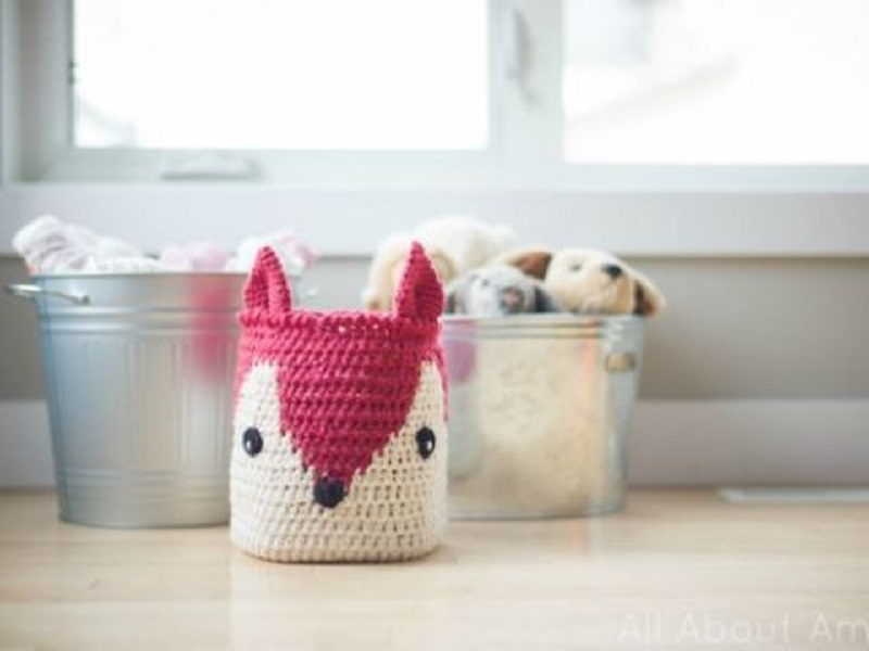 Fox-faced crochet