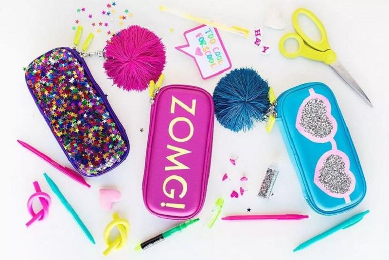Glittery pencil case diy