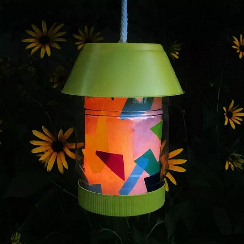 Homemade lantern