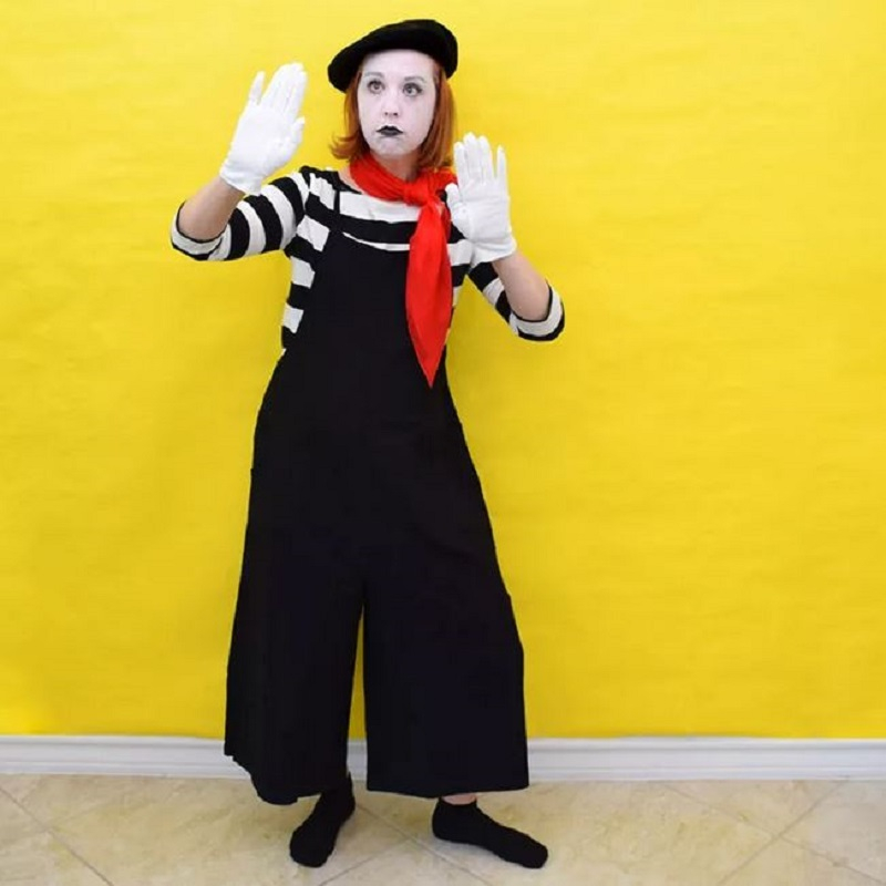 Mime costume for halloween