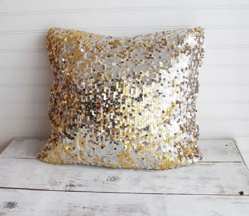 Old dress throw pillow