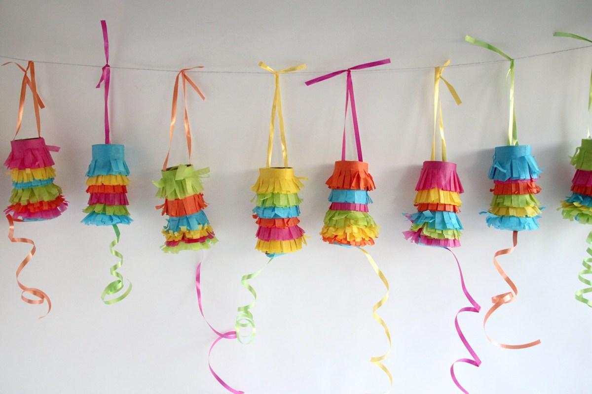 Pinata garland DIY Pinatas For Every Kind Of Party You Can Make At Home