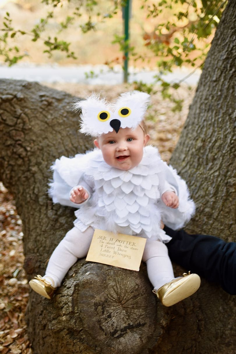 Baby owl costume DIY Insanely Cute Baby Halloween Costume Ideas You Can Make This Weekend