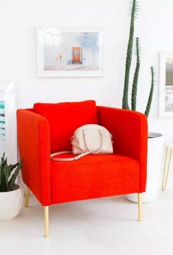 Cool diy metallic chair