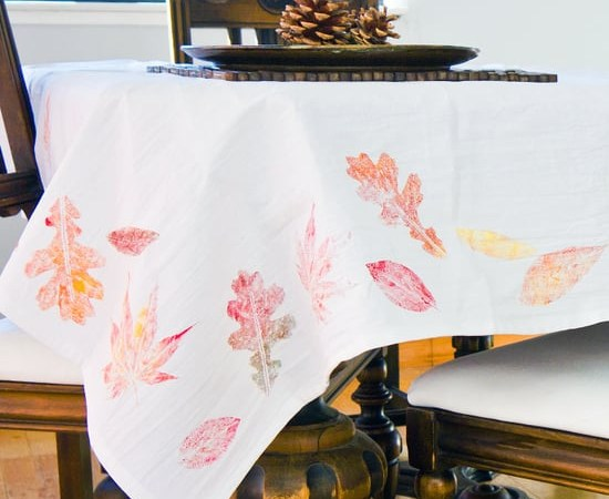 DIY Tablecloths Ideas For Fall, Holiday And Any Day You Want