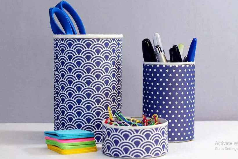 Diy pencil containers