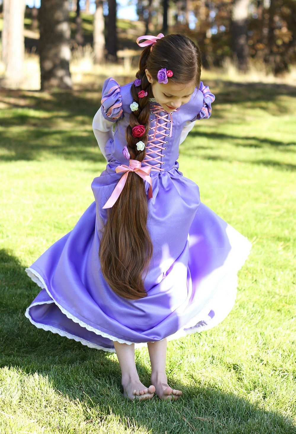 Diy rapunzel costume DIY Prettiest Princess Costume Ideas To Shine In Your Halloween Celebration