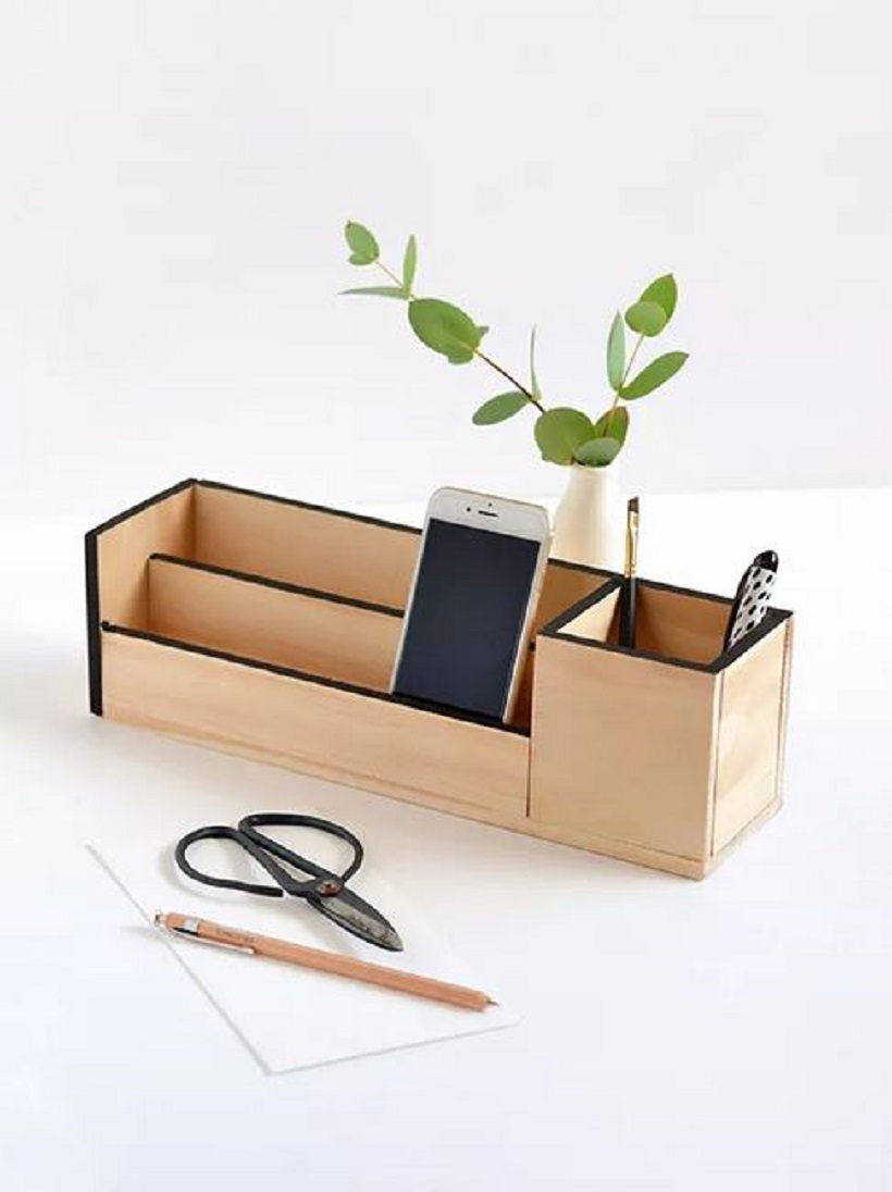 Diy wooden organizer