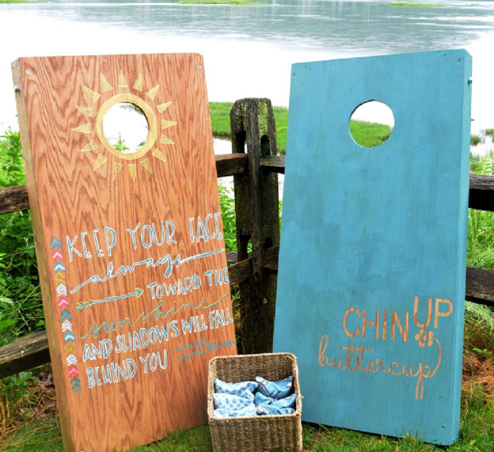 Free cornhole board plan DIY Cornhole Board Plans You Can Create Now For Your Backyard
