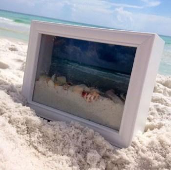 Ocean shadow box