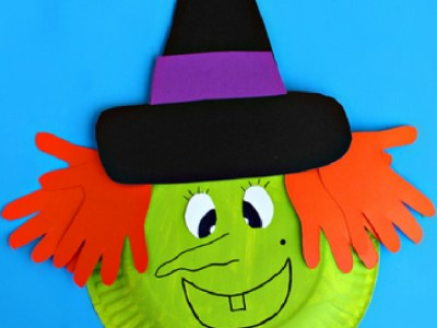 Indescribable DIY Paper Plate Crafts To Complete Your Halloween Celebration