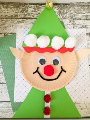 Cute paper elf