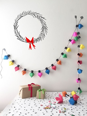 Diy christmas bulb advent calendar Bewitching Winter Paper Craft Ideas To Let Your Home Full Of Christmas Joy