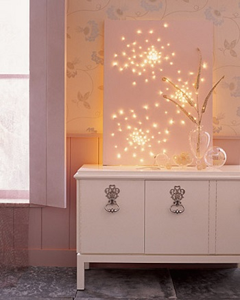 Diy glittering lightscape DIY Beautiful Christmas Lights Decoration To Offer You Full Of Lights Life
