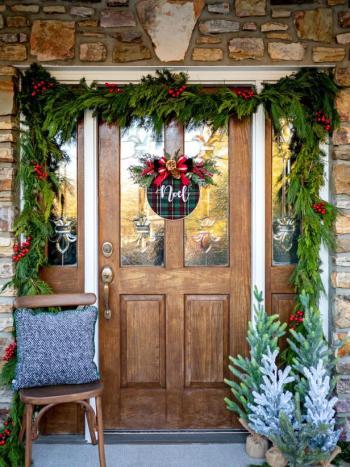 Get classic colors for front door