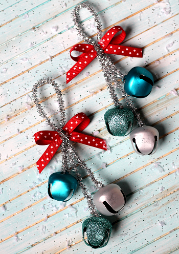 Jingle bells ornaments DIY Festive Christmas Ornaments To Give You A Stunning Look In Every Home Corner