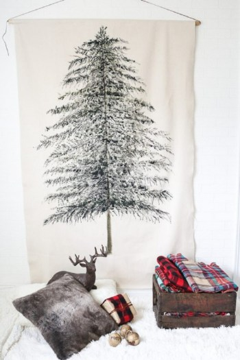 Tree wall hanging fro christmas