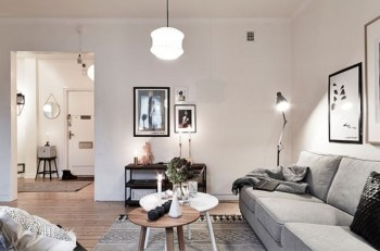 Cozy apartment decoration to get warm during winter that so stylish 2