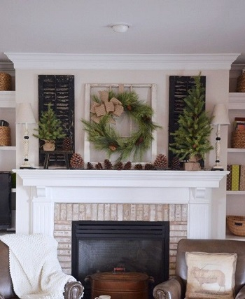 Let the outdoors go indoors Applicable Cozy Steps To Get Your Living Room Ready This Winter