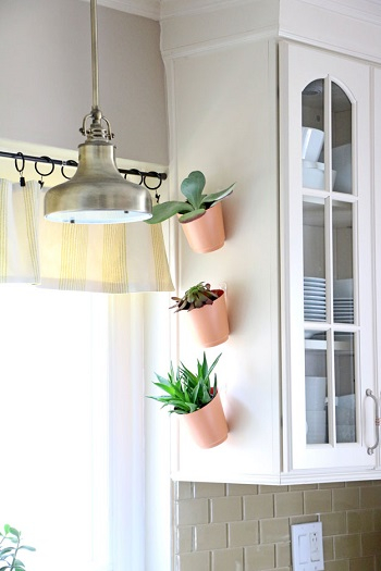 No-commitment vertical garden Pleasant Indoor Garden Ideas To Cure The Winter Blues This Season
