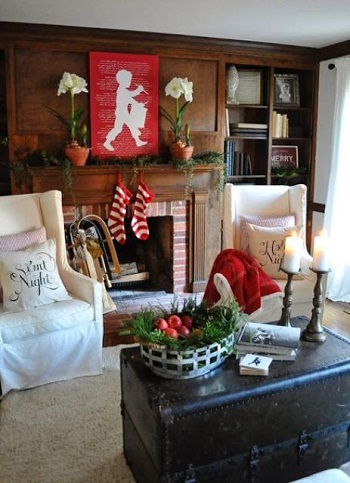 Play on colors Applicable Cozy Steps To Get Your Living Room Ready This Winter
