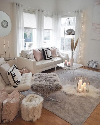 Play on texture Applicable Cozy Steps To Get Your Living Room Ready This Winter