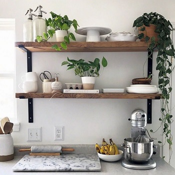 Restyle kitchen shelving often Easiest And Effective Ways To Do To Update Kitchen Shelving Design You Should Know