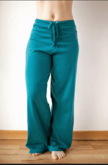 Basic yoga pants An Hour Or Two Pajama Pants Project For Beginner Sewist