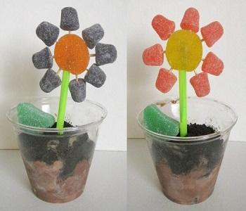 Diy edible ice cream flower pots DIY Ideas Of Full Spirit Artworks To Have Energetic Garden