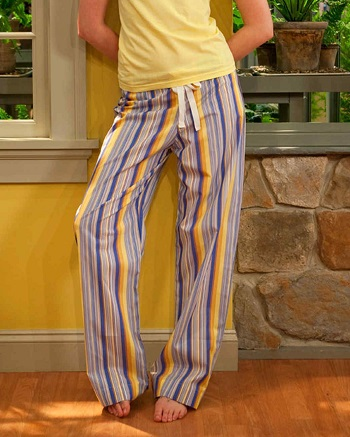 Drawstring pants An Hour Or Two Pajama Pants Project For Beginner Sewist