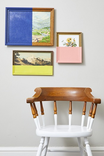 Half painted art Beginner-Appropriate DIY Project To Refresh Your Home Decoration