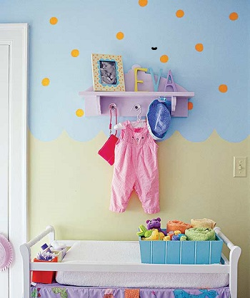 Climbing the walls DIY Storage Solution To Keep Your Kids Room Organized