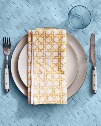 Printed napkin diy