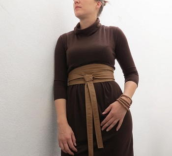Wrapped belt DIY Splendid Belt Ideas To Amaze Your Daily Outfit
