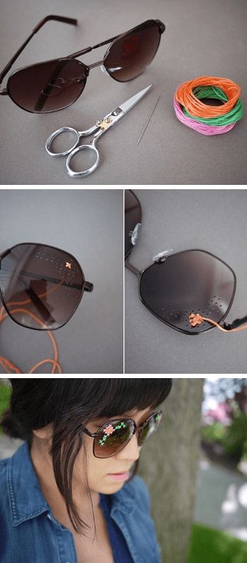 Inspiring DIY Sunglasses Makeover Ideas For Perfect Style