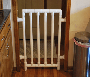 Baby gate from pvc pipes DIY Excellent Ideas To Have Functional Baby Gates