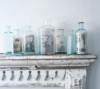 Bottle portrait collection DIY Unconventional Ideas To Display Your Family Photos
