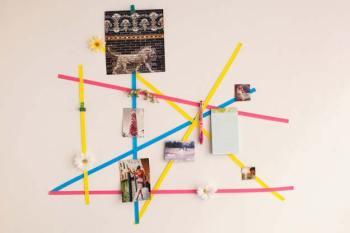 Diy easy geometric wall art