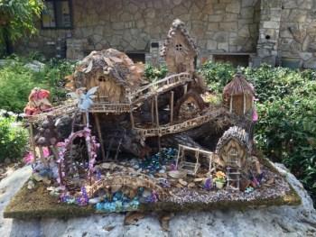 Diy rustic fairy garden