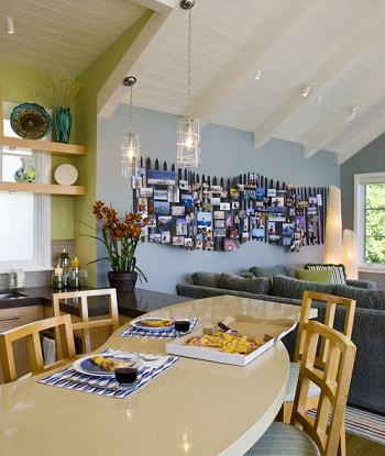 Picket fence gallery DIY Unconventional Ideas To Display Your Family Photos