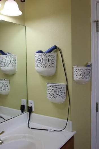 Plant holders repurposed