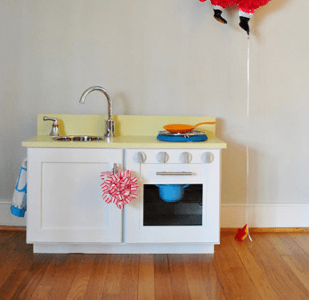 Cabinet play kitchen Selected-Unconventional DIY Play Kitchen Ideas To Keep Your Kids Busy