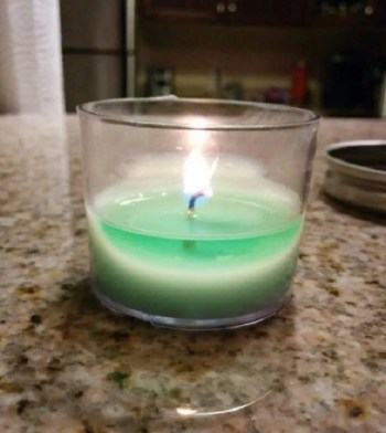 Diy soy wedding candles