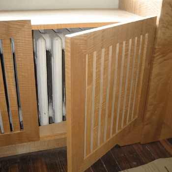 Easy access cover DIY Stylish Radiator Covers To Keep Your Home Pretty