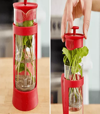 Keep your herbs fresh Utilitarian Ideas You Can Do With The Inexpensive Press Coffee Maker
