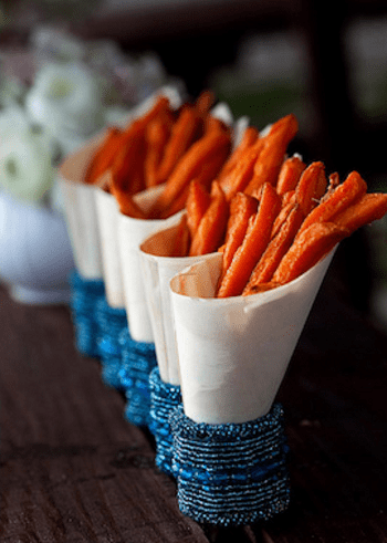 Paper cone holders Special Ways To Use Napkin Ring As Your DIY Project