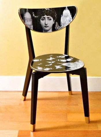 Artistic wooden chair