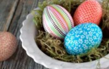 Beautiful decor with eggs