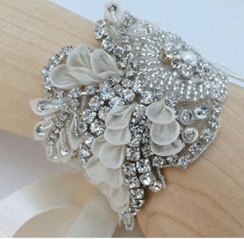 Bridal cuff bracelets Shattering Creative Ideas To Repurpose Vintage Jewelry