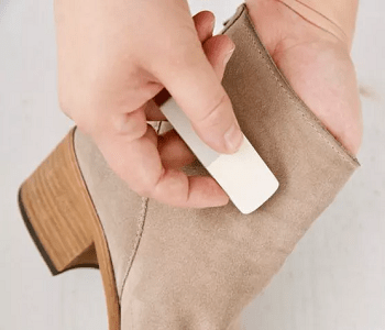 Clean you suede Unexpected Problem Solving Ideas You Can Do With Pencil Erasers